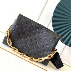 Black Shoulder Crossbody Bag Ŀọụiṣ Ṿụiṭṭọṇ